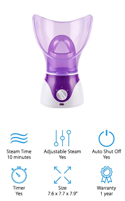 ETTG Home Facial Steamer