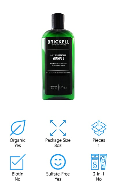 Brickell Strengthening Shampoo