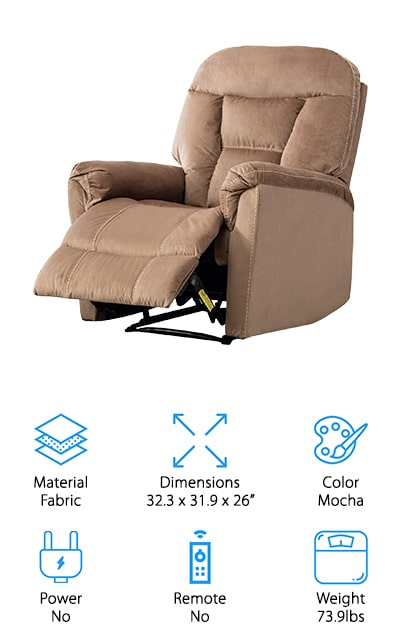 BONZY Manual Recliner