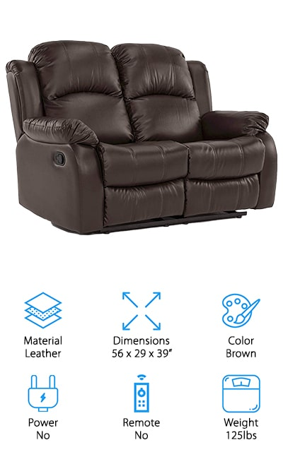Divano Roma Furniture Recliner