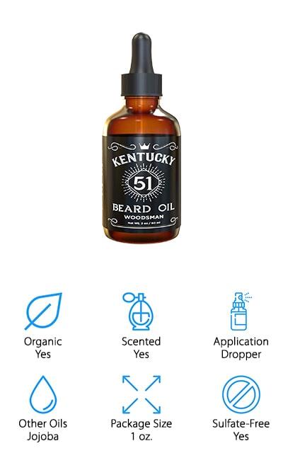 Kentucky51 Beard Oil