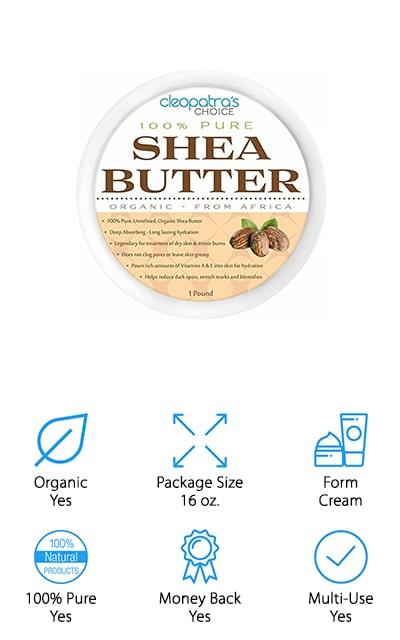 Cleopatra's Choice Shea Butter