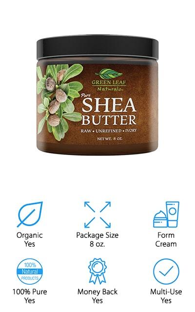 Green Leaf Naturals Shea Butter