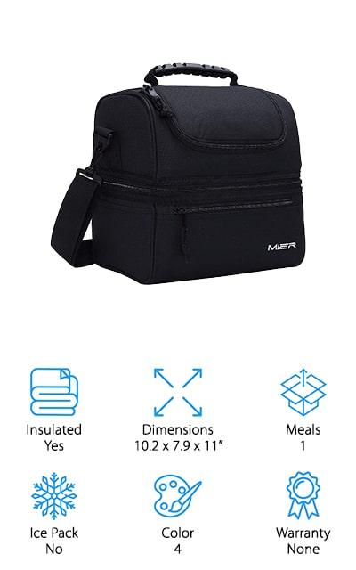 MIER Insulated Lunch Bag