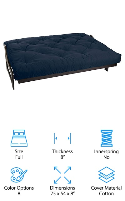 Mozaic Memory Foam Futon Mattress