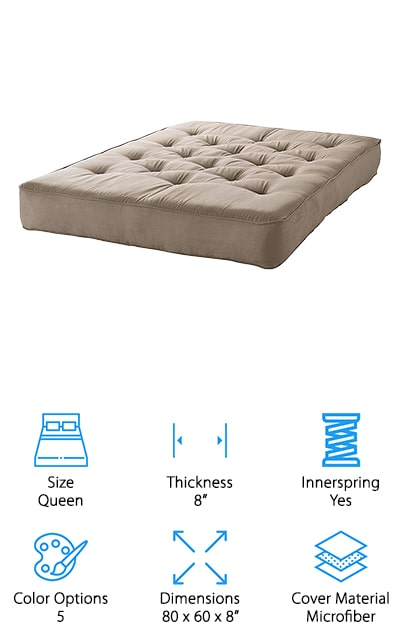 10 Best Futon Mattresses 2020 Buying Guide Geekwrapped
