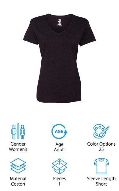 Hanes Nano-T V-Neck T-Shirt
