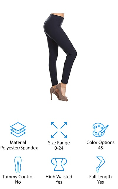Leggings Depot Basic Leggings