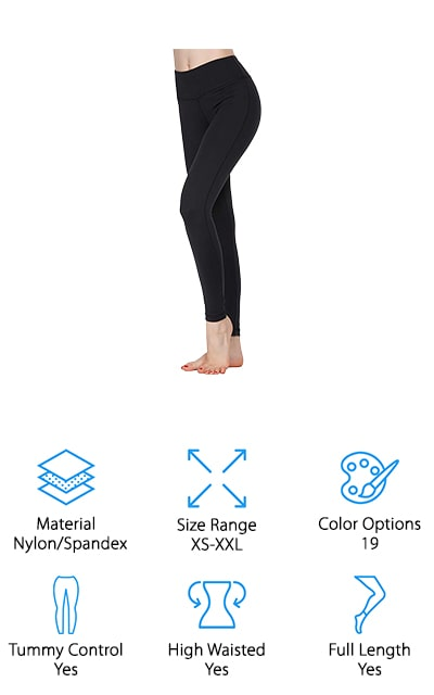 Oalka Power Flex Leggings