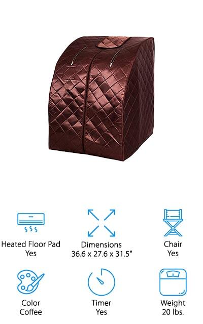 Giantex Portable Infrared Spa