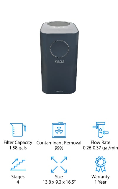 Brondell RO Circle Reverse Osmosis System