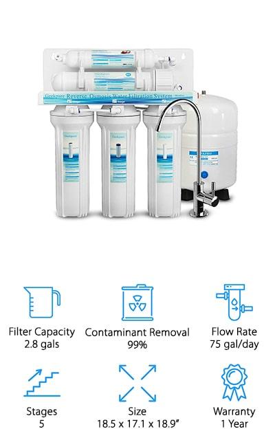 Geekpure Reverse Osmosis System