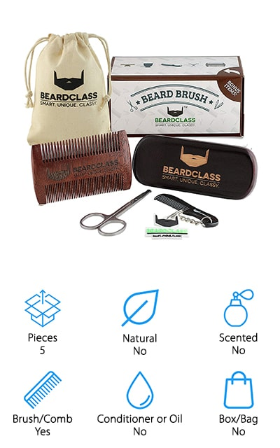 BEARDCLASS Beard Kit