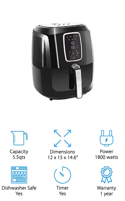 Maxi-Matic Elite Fryer