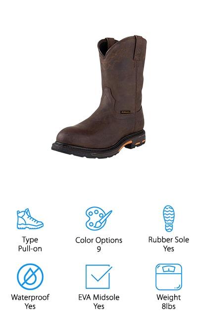 Ariat Workhog H20 Work Boots