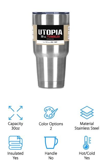 Utopia Home Tumbler