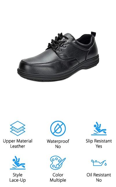 DREAM PAIRS Restaurant Work Shoes
