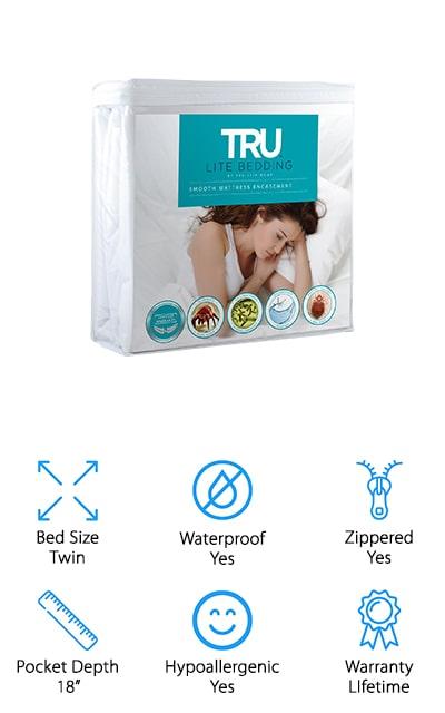 TRU Lite Bed Bug Mattress Cover