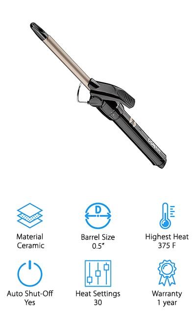 Conair Double Ceramic Curling Iron