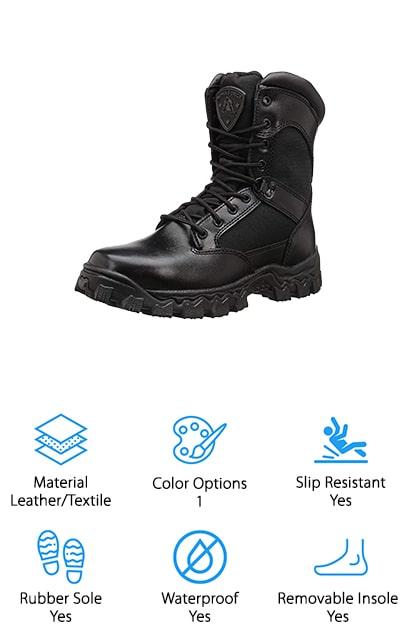Rocky Duty Alpha Force Boot