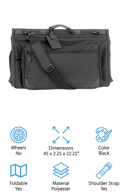 Mercury Tri-Fold Garment Bag
