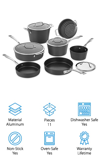 Cuisinart Conical Cookware Set