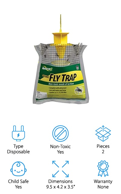 RESCUE! FTD2 Disposable Fly Trap