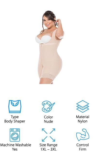 Salome 0217 Full Body Shaper