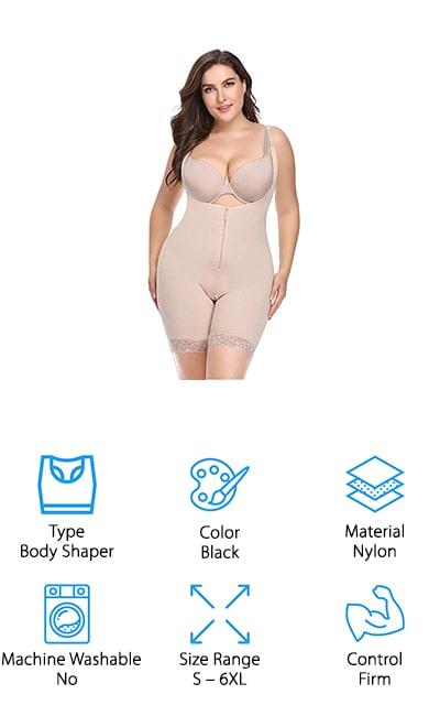 Topmelon Firm Control Bodysuit