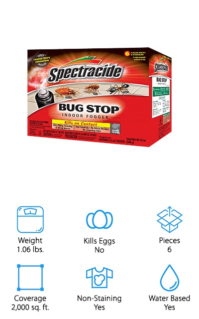 Spectracide Bug Stop Fogger