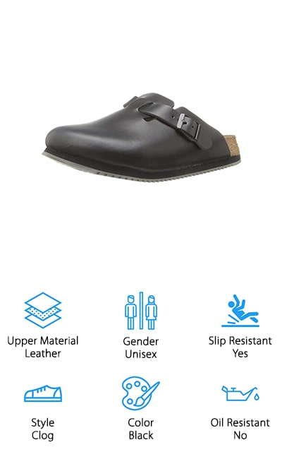 Birkenstock Boston Work Shoe