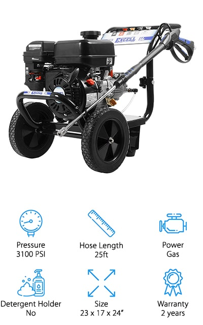 Excell Cold Water Pressure Washer