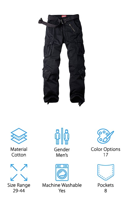 AKARMY Combat Work Pants