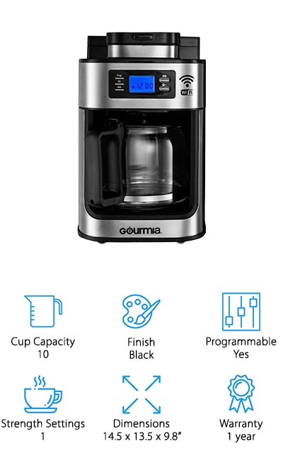 Gourmia Grinder Coffee Maker