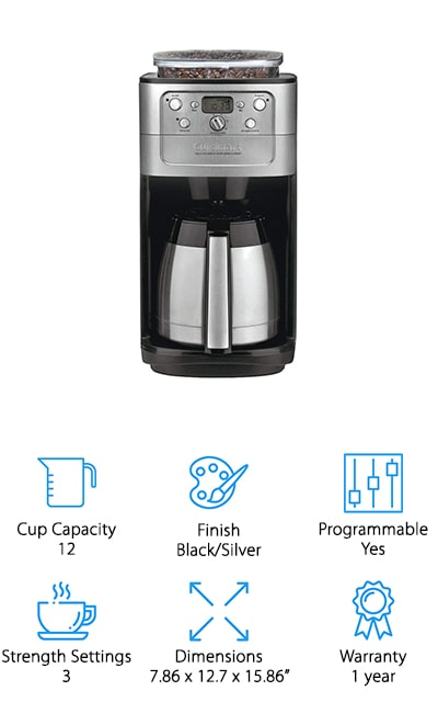 Cuisinart DGB-900BC Coffeemaker