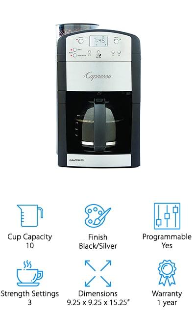 Capresso Grinder Coffeemaker