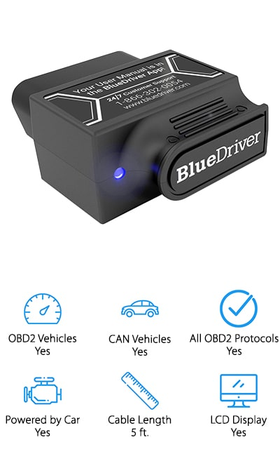 Blue Driver OBDII Scan Tool
