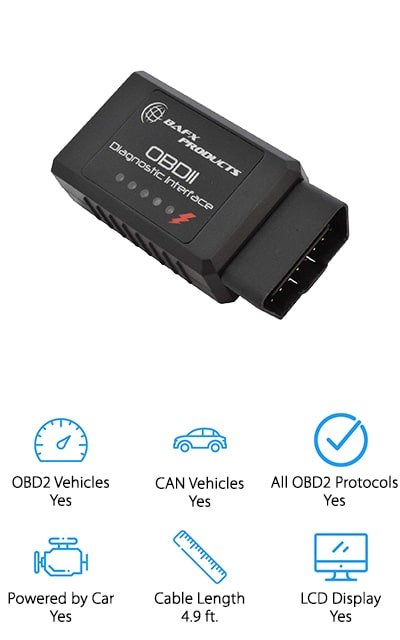 BAFX Products OBDII Scan Tool