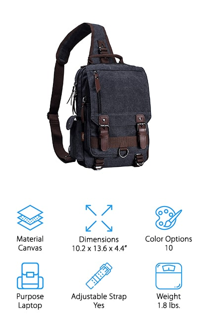 Leaper Messenger Sling Bag