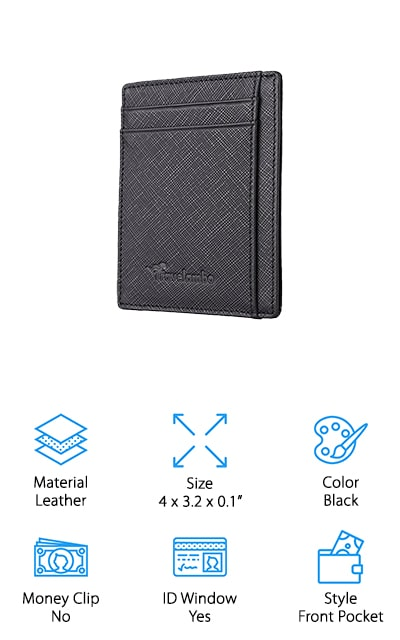 Travelambo Front Pocket Wallet