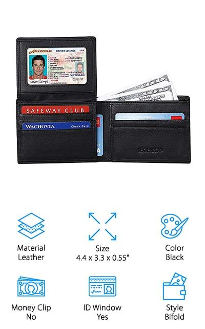 Leopardd Bifold Wallet