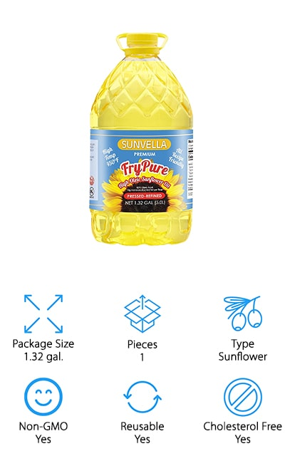 SUNVELLA FryPure Sunflower Oil