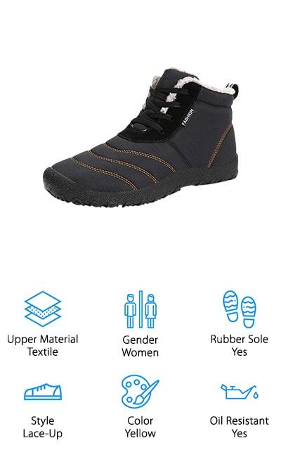 Voovix Non Slip Boots