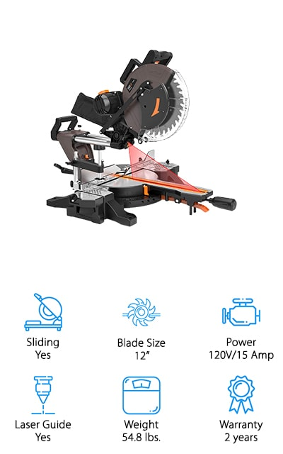 TACKLIFE Compound Miter Saw