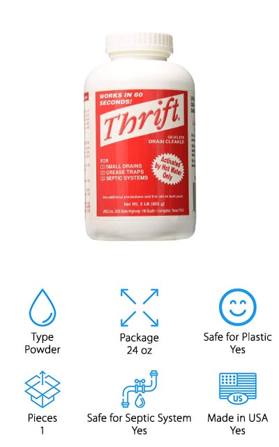 Thrift MARKETING GIDDS Drain Cleaner