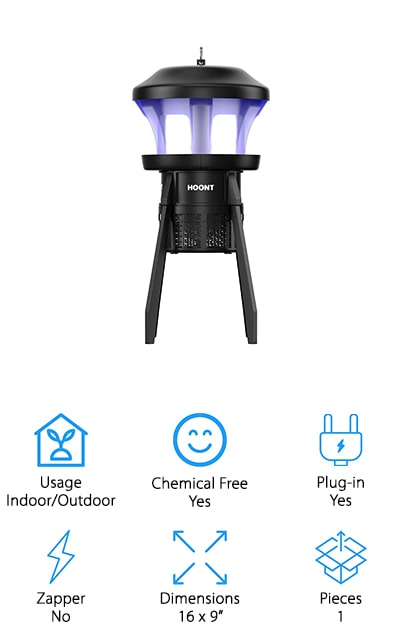 Hoont 3-Way Mosquito Trap