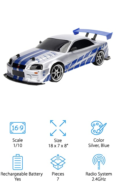 Jada Fast & Furious RC Car