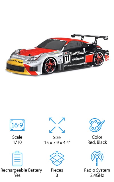 Exceed RC Drift Star