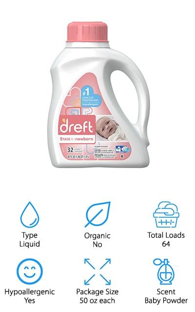 Dreft Stage 1 Baby Detergent