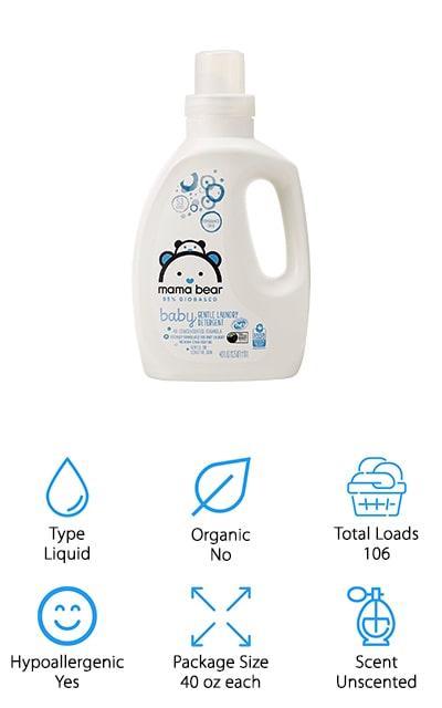 Mama Bear Baby Detergent